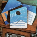 Juan Gris Paintings Guitar Table Painting