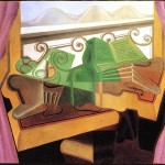 Juan Gris Pictures Still Life Open Window Tatouage