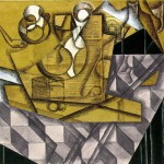 Juan Gris Teacups Art Painting Off