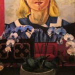 Julian Schnabel Big Girl Painting Flowers Exhibition Read