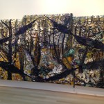 Julian Schnabel Plate Painting The Brant Foundation Exhibition