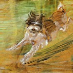 Jumping Dog Schlick Franz Marc Wikipaintings