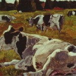 Just The Cow But Also About Act Painting And Paint Itself