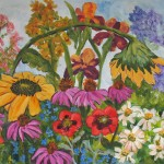 Kate Ladd Art The Blue Heron Studio More Garden Paintings Showing