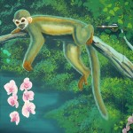 Kee Ewt Spider Monkey Orchids Real And Painted