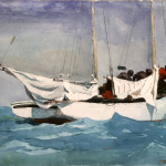 Key West Hauling Anchor Winslow Homer Wikipaintings
