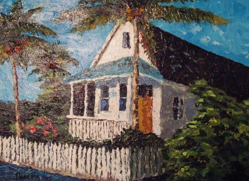 Key West Too Painting Randy Deering Fine Art Prints