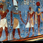 Kings Valley Thebes Egypt Tomb Painting Horemheb Tombs