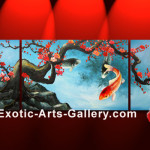Koi Fish Painting Flickr Sharing