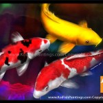 Koi Fish Paintings Feng Shui For Home And Office