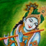 Krishna Buddha Ganesh Hindu Indian Painting Prints Wall Decor