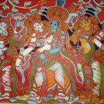 Krishna Eternal Enchanter Mural Paintings Kerala