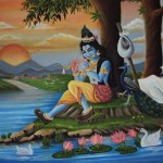 Krishna Paintings Canvas Oil