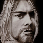Kurt Cobain Drawing Michael Mestas Fine Art Prints