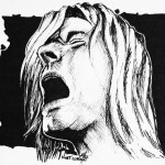 Kurt Cobain Hermosilla Traditional Art Drawings People