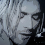 Kurt Cobain Painting Ashley Price Fine Art Prints And