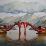 Labels Art Paintings Vladimir Kush