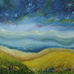 Land Hope Contemporary Landscape Painting Click Enlarge