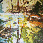 Landscape Art For Sale Oil Painting Large Over The Falls