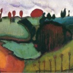 Landscape Marcel Duchamp Paintings Image
