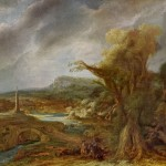 Landscape Obelisk Govert Flinck March Isabella