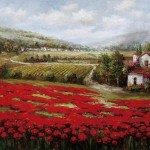 Landscape Oil Painting Tuscan China Reproduction