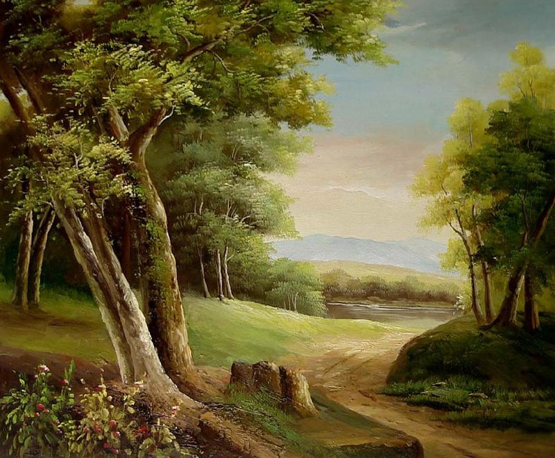Landscape Paintings For Sale Classical