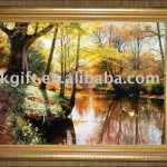 Landscape Paintings One The Most Famous Oil Painting From Vinci