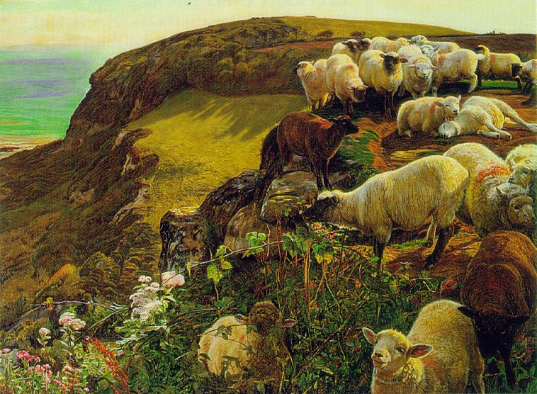 Landscape Paintings The Pre Raphaelites Blog