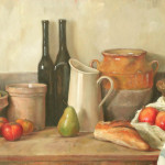 Large Scale Still Life Paintings Autumn Fruits English Painter