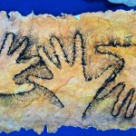 Lascaux And Chauvet Inspired Cave Paintings Hands