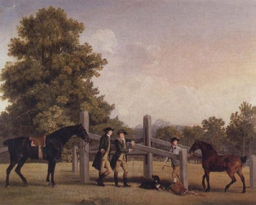 Leaping Bar George Stubbs Open Picture Usa Oil Painting Reproductions