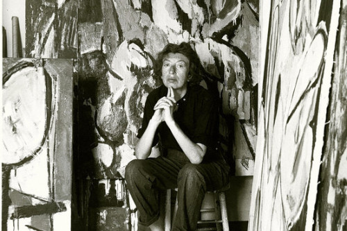 Lee Krasner Her Studio Money Was Important But