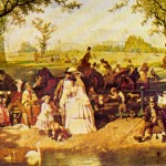 Left Summer Day Hyde Park John Ritchie This Shows
