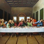 Leonardo Vinci Original Picture The Last Supper Painting
