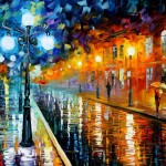 Leonid Afremov Born Belarusian Painter His Paintings Are