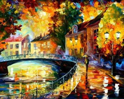 Leonid Afremov Oil Paintings