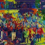 Leroy Neiman Chicago Board Trade Painting Best Paintings For Sale