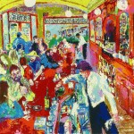 Leroy Neiman Paintings Buena Vista Bar Painting