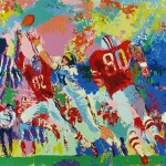 Leroy Neiman Paintings Rivalry Ohio State Buckeye Suite