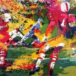 Leroy Neiman Paintings Scramble Painting