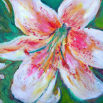 Lily Passion Painting Patricia Taylor Tiger Fine Art