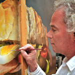 Linda Mooney Other Worlds Romance Ultra Realistic Food Paintings