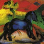 Little Blue Horse Franz Marc Wikipaintings