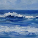 Little Ocean Blue Page Peyton Paintings
