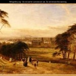 London From Greenwich Hill Henry Thomas Dawson Wikigallery