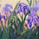 Loose And Lively Irises Garden Series Daily Painting Marion
