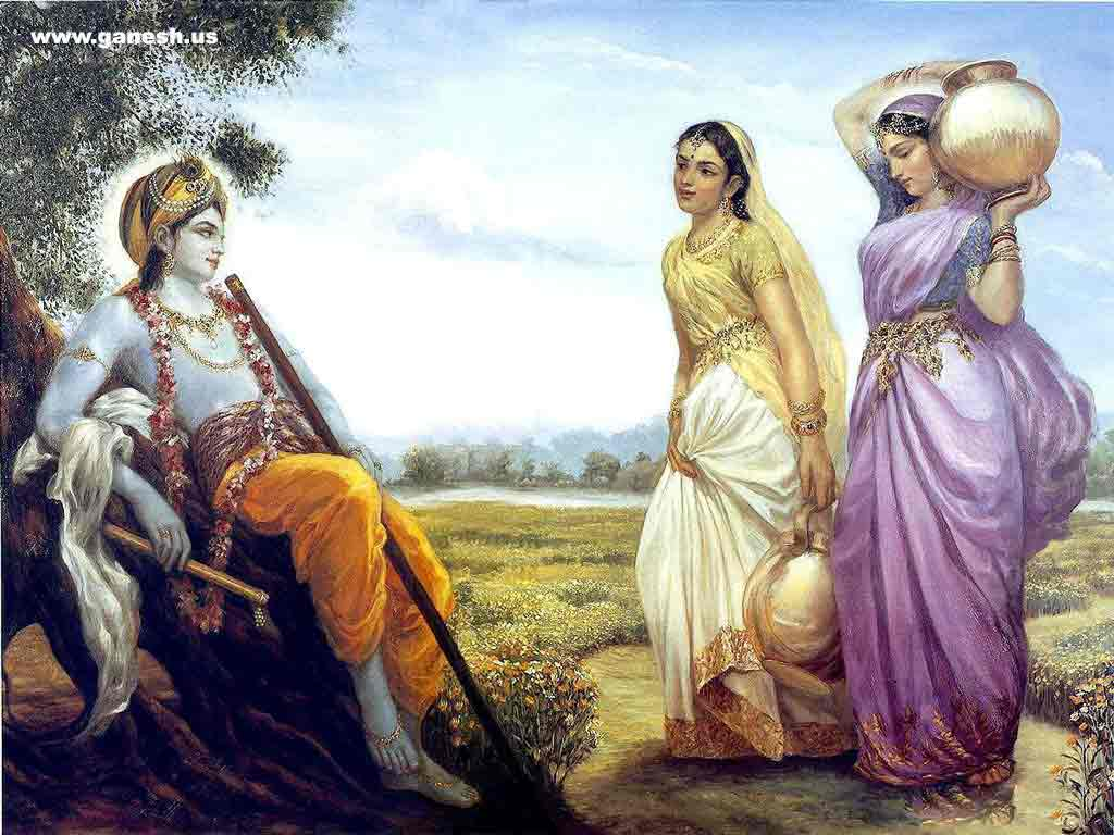 Lord Sri Krishna Paintings All About India