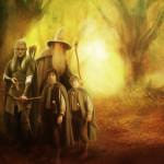 Lord The Rings Forest Painting Lasse Deviantart
