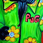Love Peace Pop Art Painting Laura Barbosa Heart Blog
